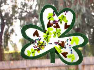 Clover Suncatcher Project
