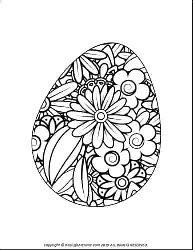 photograph relating to Free Printable Easter Eggs named Easter Egg Coloring Web pages (Absolutely free Printable Easter Egg