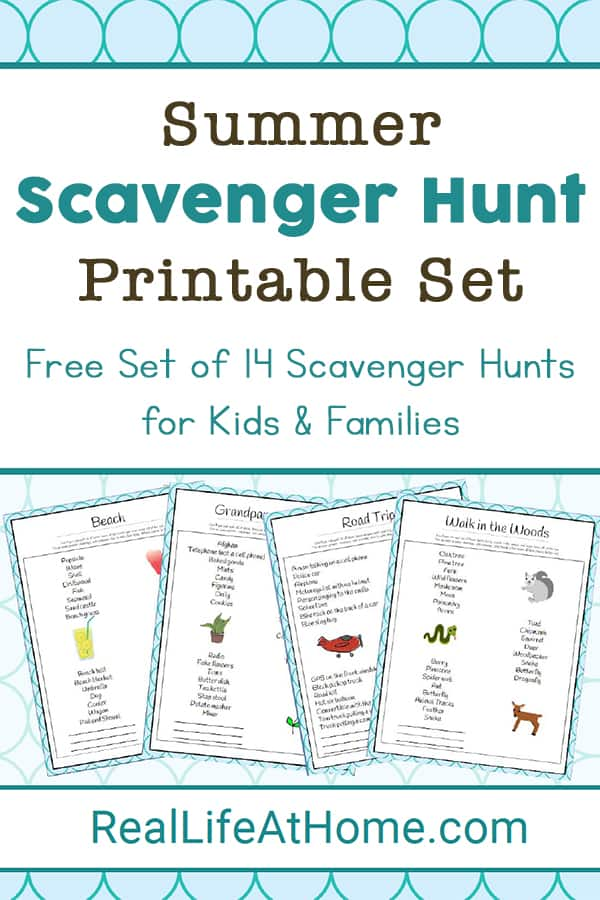 This is a picture of Printable Scavenger Hunt for Kids with regard to kindergarten