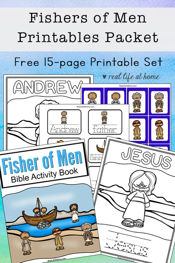 photo relating to Memory Community Helpers Free to Printable Coloring Pages called Fishers of Males Free of charge Printables: Coloring Web pages and Finding out