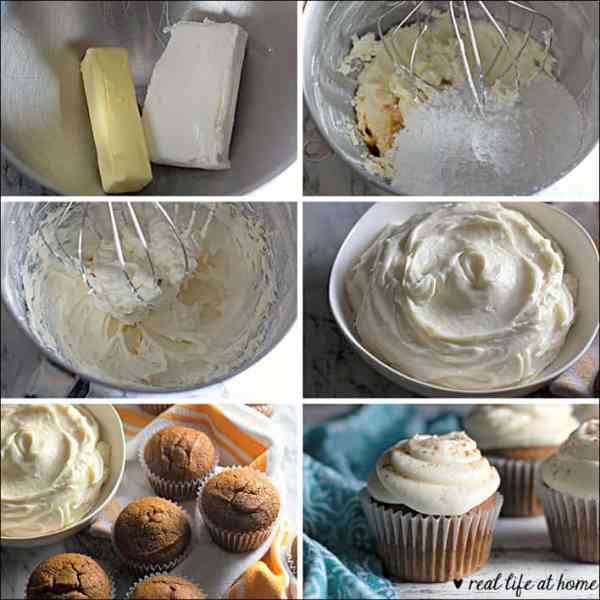 How to Make Homemade Whipped Cream Cheese Frosting (process pictures)