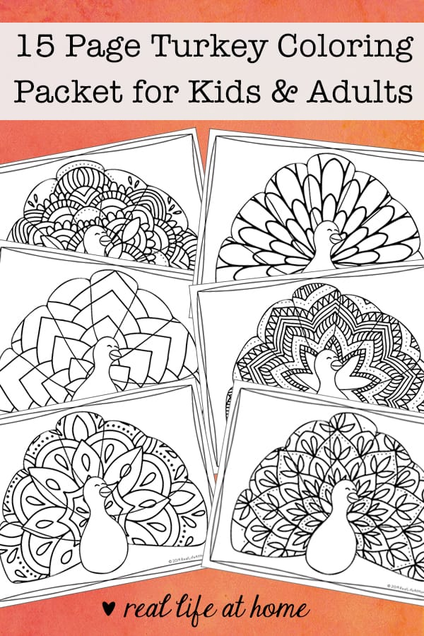 - Turkey Coloring Pages (Free Printable Thanksgiving Coloring Pages)