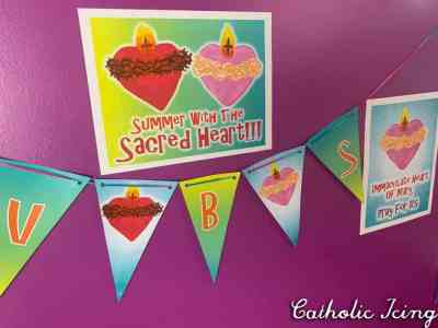 Summer with the Sacred Heart At-Home VBS Program