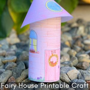 Fairy House Craft Project for Kids