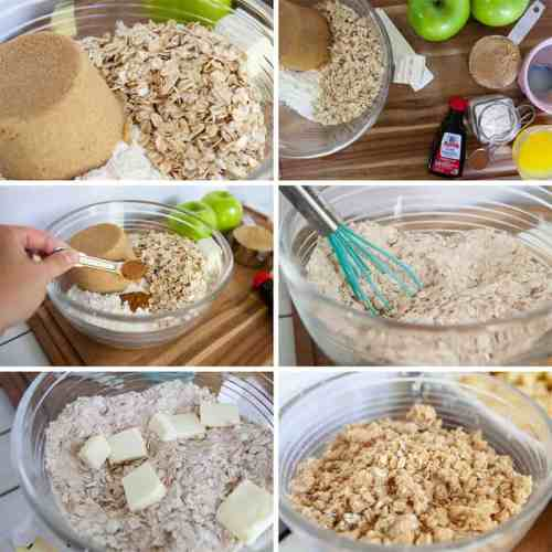 How to Make Crumble for Apple Crisp