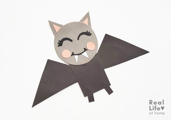 Bat Craft for Kids with Free Template
