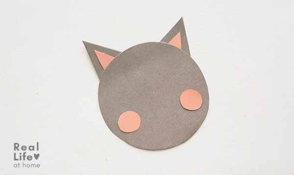 Bat Paper craft Step 6
