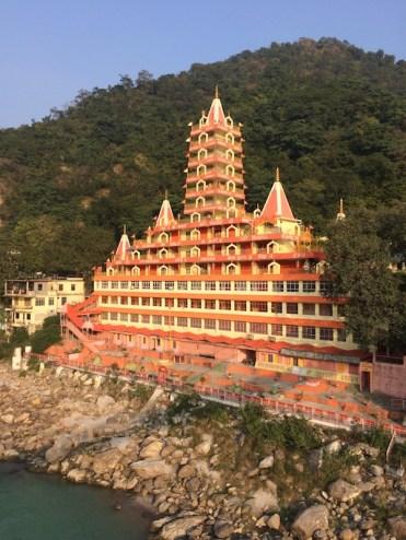 The most iconic ashram in Rishikesh