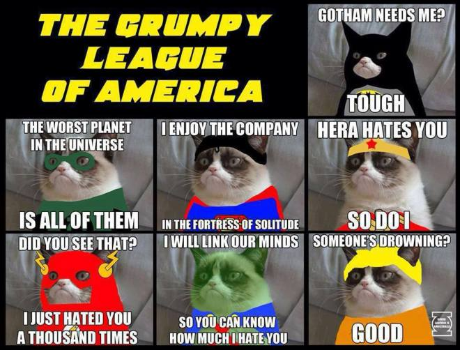 grumpy league
