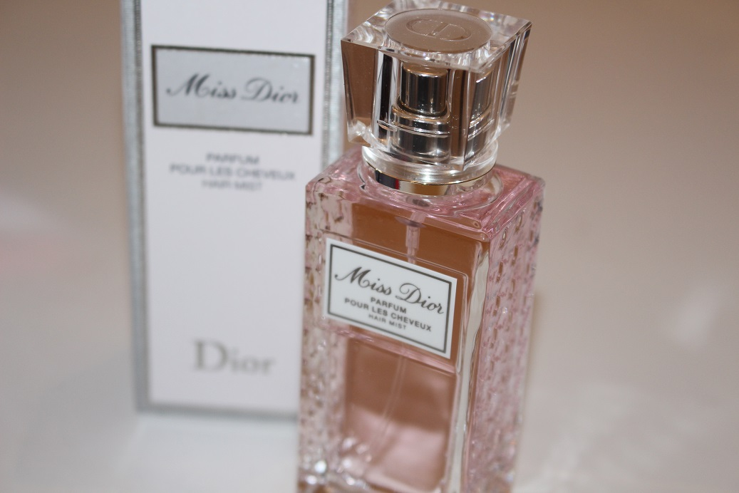 Miss Dior Hair Mist Romantic Review Really Ree