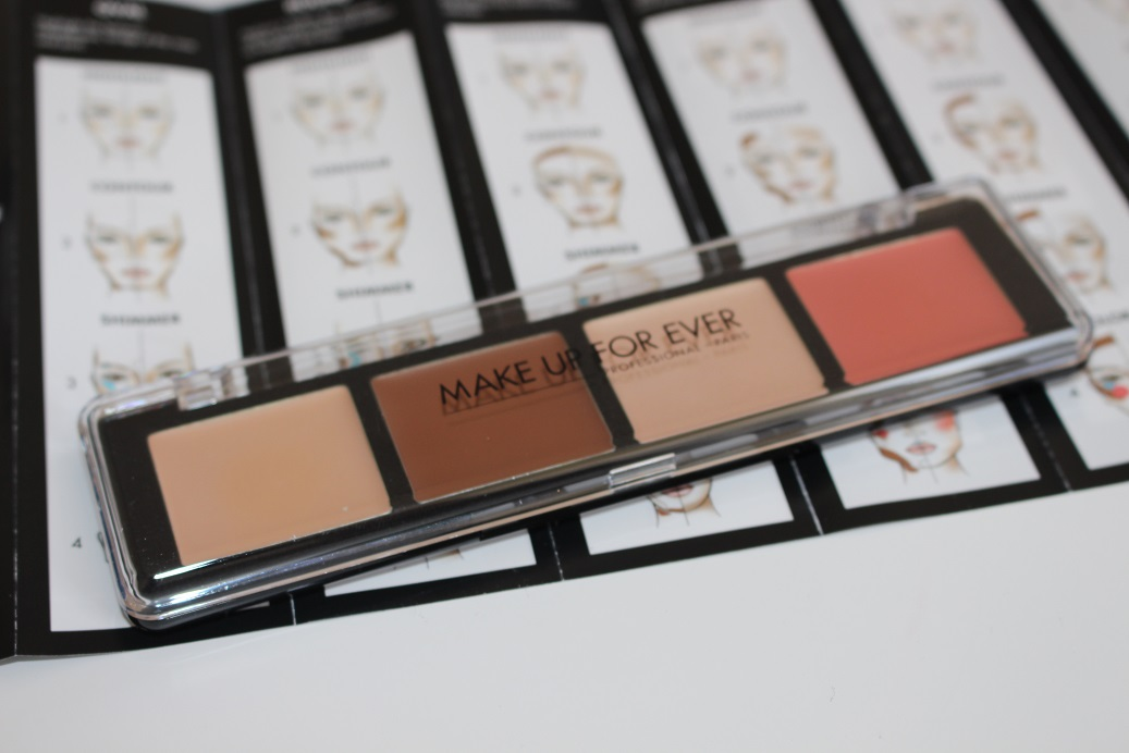 Makeup Forever Pro Sculpting Palette Review Swatches Really Ree