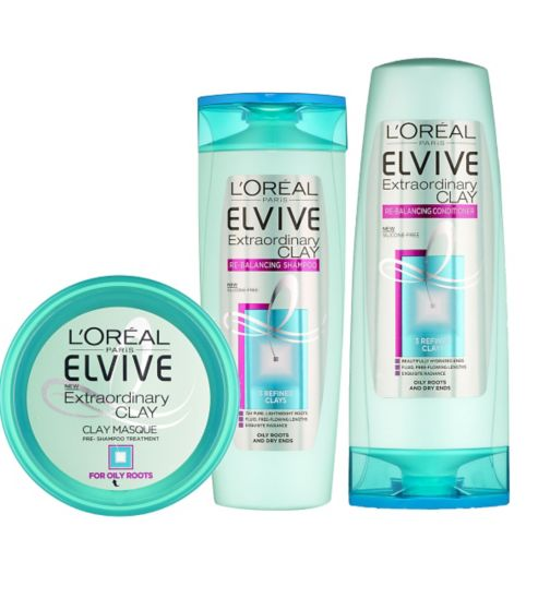 LOreal Elvive Extraordinary Clay Range Review Really Ree