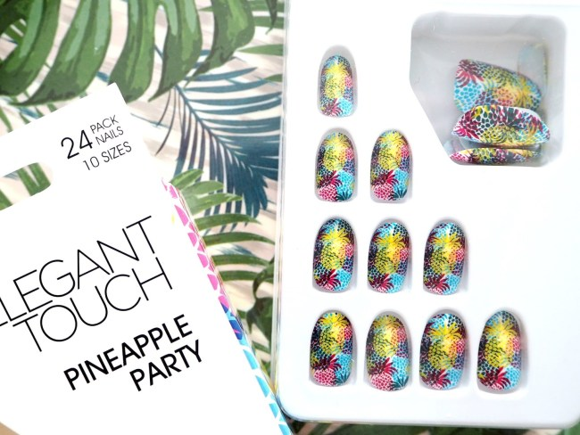 Rio Inspired Nails by Elegant Touch - Pineapple Party