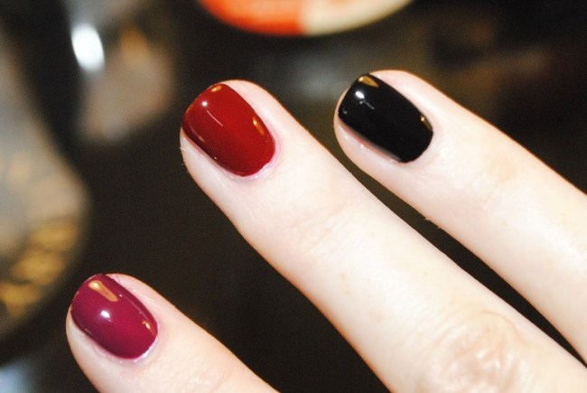YSL La Laque Couture Over Noir Nail Collection