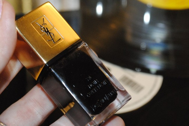YSL La Laque Couture Over Noir Nail Collection