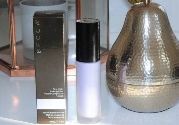 BECCA First Light Priming Filter Review. Photos, Swatches