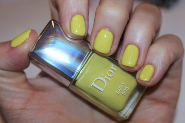 Dior Nails Spring 2017 - Early Swatch