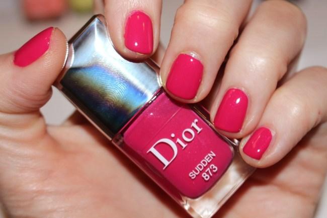 Dior Nails Spring 2017 - Sudden Swatch