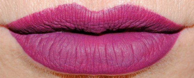 Barry M Matte Me Up Liquid Lip Paints Swatches - Embellish