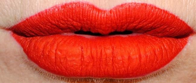 Barry M Matte Me Up Liquid Lip Paints Swatches - Paparazzi