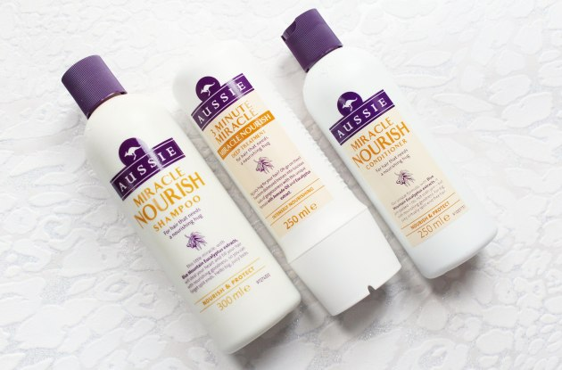 Aussie Miracle Nourish Hair Care