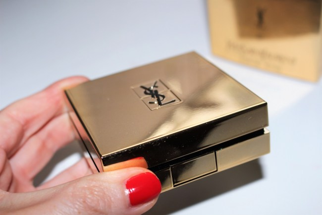 Ysl Touche Eclat Le Cushion Foundation Review Swatch Before After
