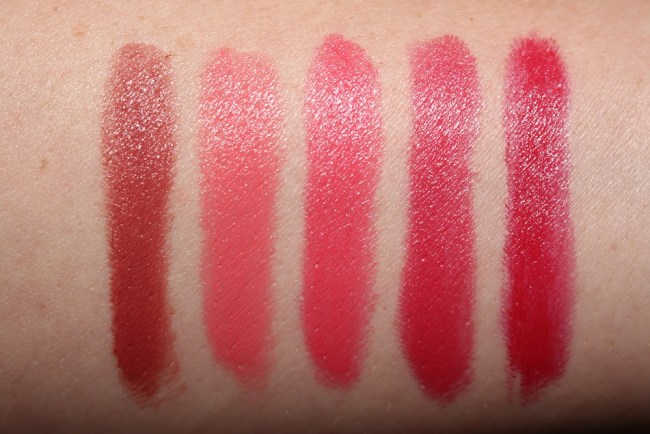 Tom Ford Boys and Girls Swatches Richard, Patrick, Michael, Giacomo, Luciano