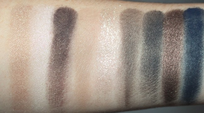 Bobbi Brown Caviar and Rubies Eyeshadow Palette Swatches