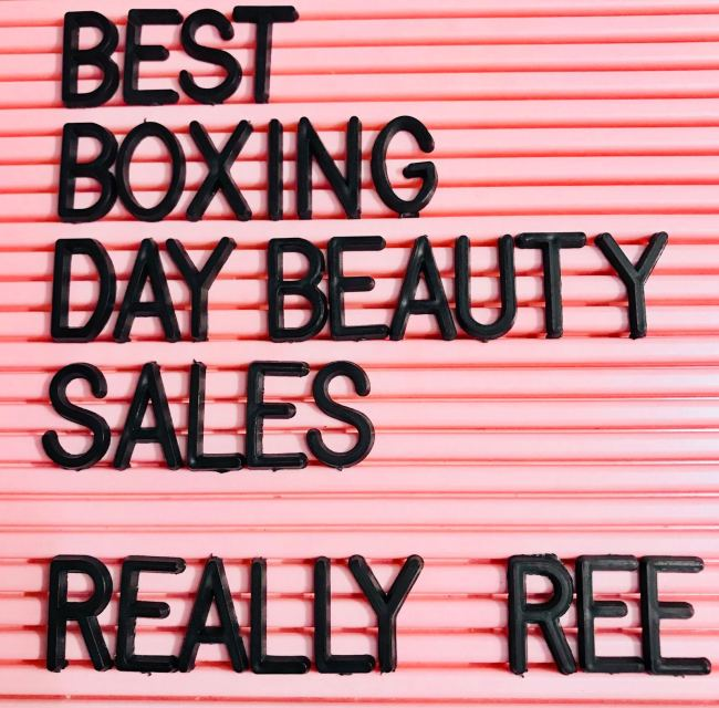 Best Boxing Day Beauty Sales