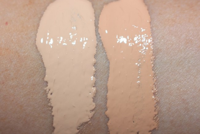 Clinique Beyond Perfecting Super Concealer Swatch - Very Fair 04 & Very Fair 08