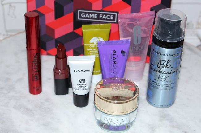 Estee Lauder GAME FACE Beauty Box