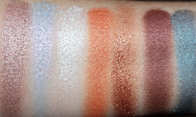 Fenty Beauty Holiday 2018 Killawatt Foil Freestyle HIghlighter Palette Swatches