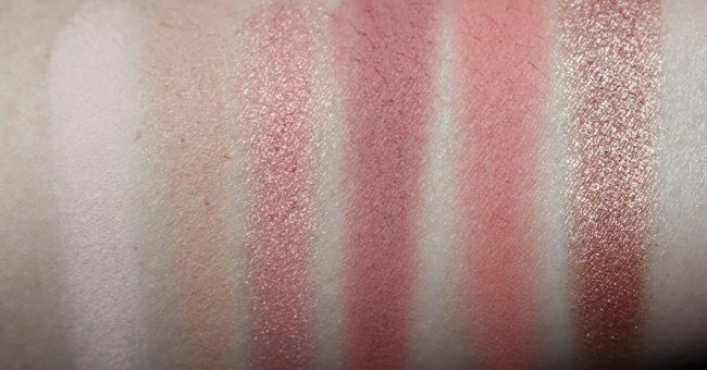 Urban Decay Naked Cherry Eyeshadow Palette Swatches