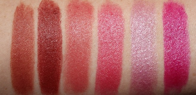 Clinique Dramatically Different Lipstick Swatches