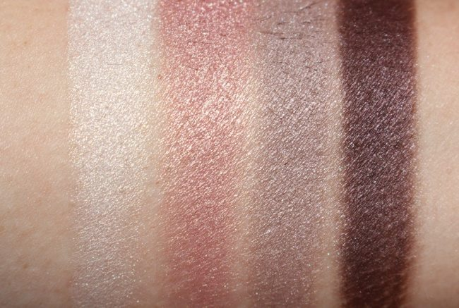 Tom Ford Virgin Orchid Eye Color Quad Swatches (damp)