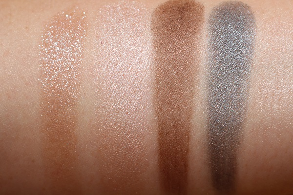 Tom Ford White Suede Eye Quad Swatches