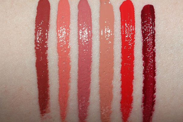 Charlotte Tilbury Latex Love Liquid Lipstick Swatches
