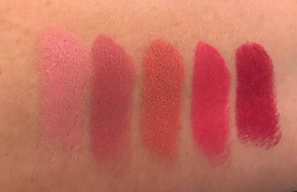 MAC Boom Boom Bloom Lipstick Swatches