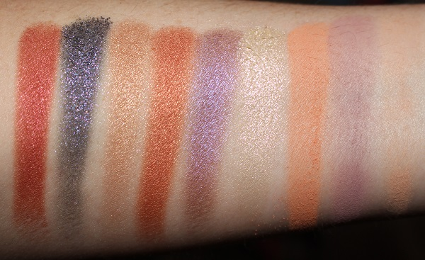 Ciate Jessica Rabbit Eyeshadow Palette Swatches