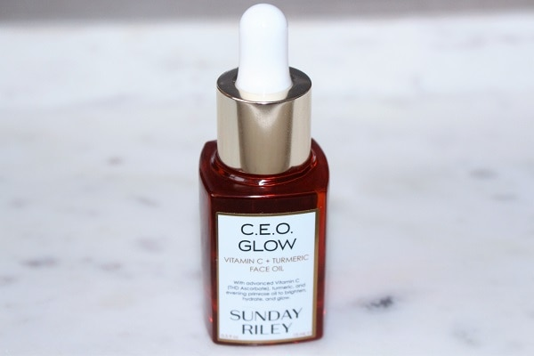 Sunday Riley CEO Glow Vitamin C & Turmeric Face Oil Review