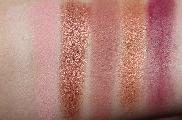 Too Faced Natural Lust Eyeshadow Swatches