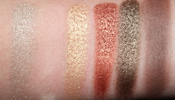 Estee Lauder Pure Envy Eyeshadow Palette Swatches