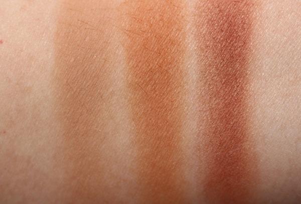 Fenty Beauty Sun Stalk'r Bronzer Swatches - India Sun, Bajan Gyal, Mocha Mami