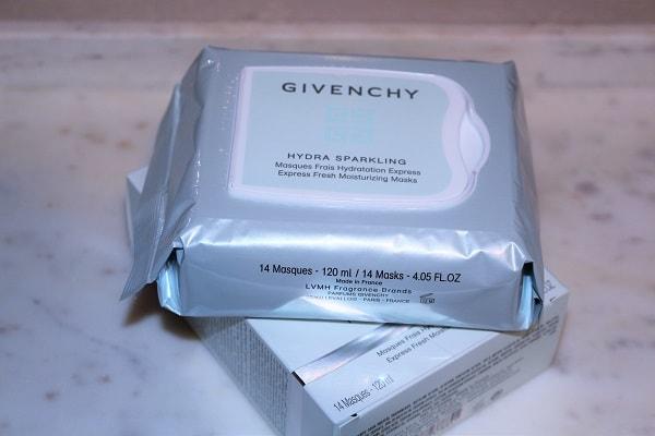 Givenchy Express Fresh Masks - Hydra Sparkling