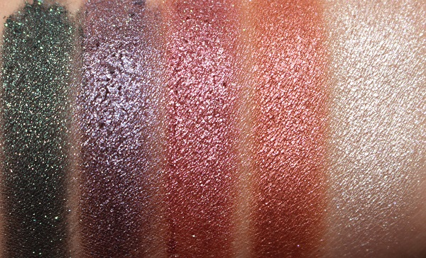 Ciate Marbled Metals Swatches
