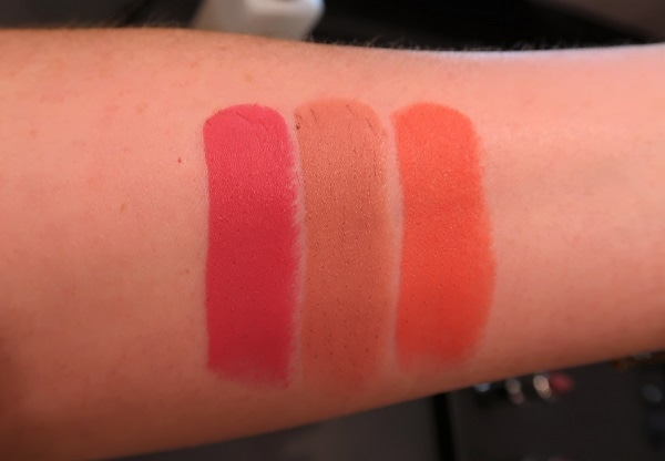 Le Rouge Deep Velvet 25, 10, 33 Swatches