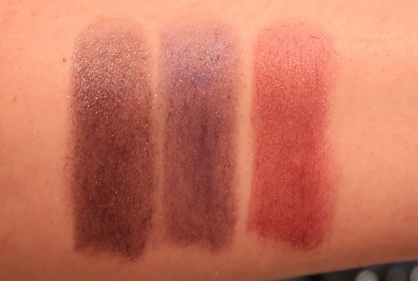Le Rouge Night Noir 06, 04,02 Swatches
