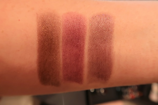 Le Rouge Night Noir 03, 05, 01 Swatches