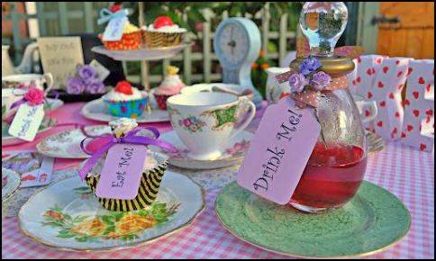 Kimbers Mad Hatter Tea Party Friday Night Club