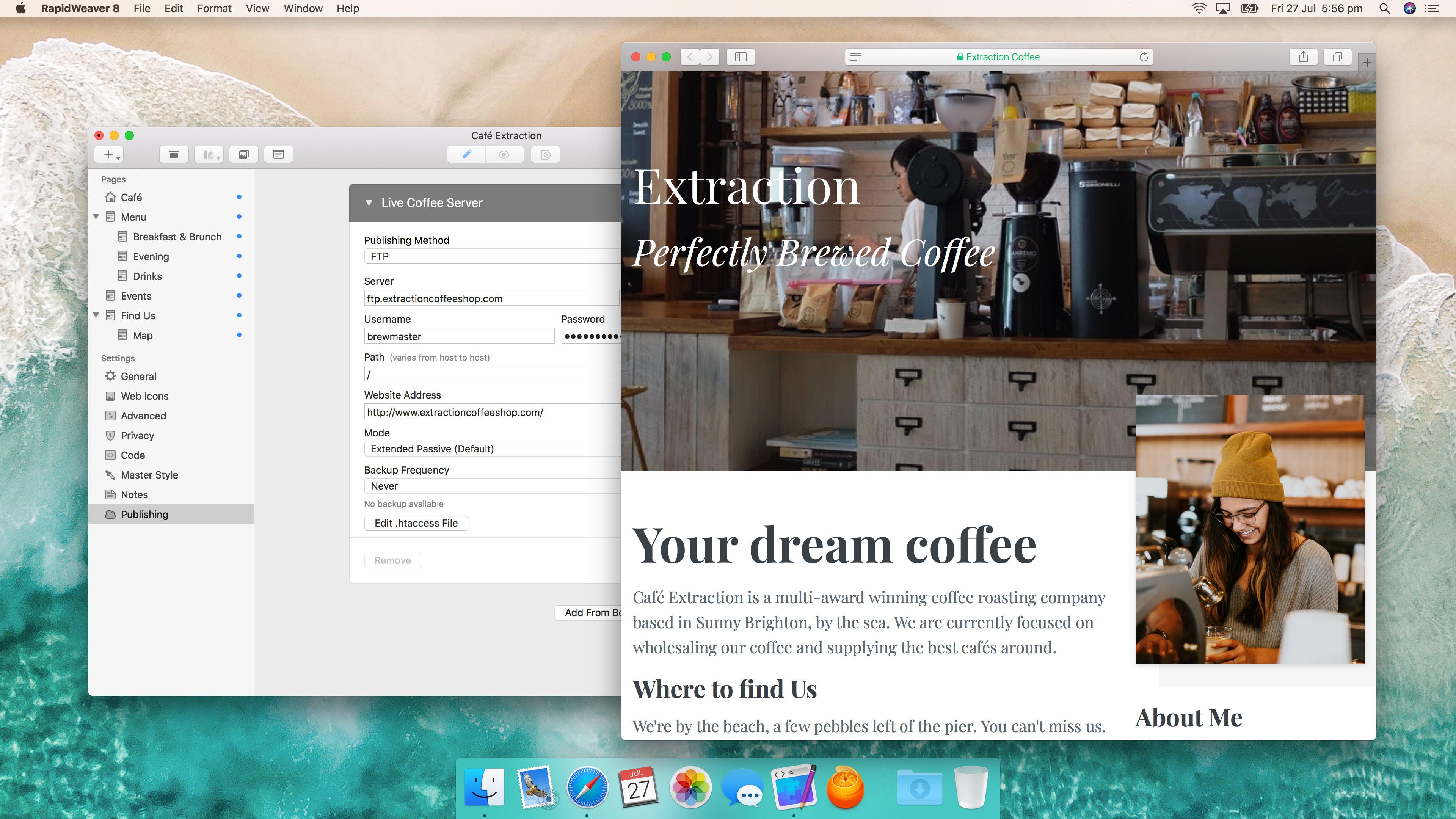 RapidWeaver 8.9.1.20881 Mac 破解版 优秀的零编码网页开发工具